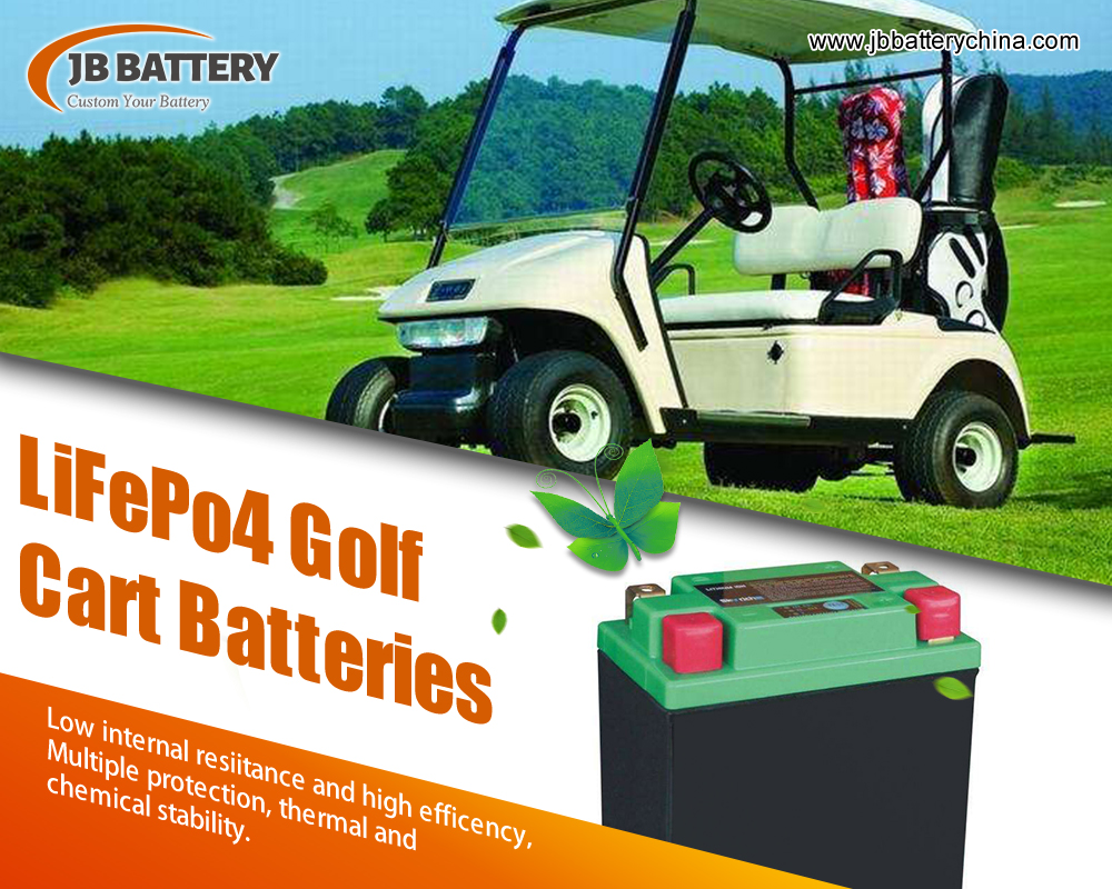 Comprendre les options de batterie de voiturette de golf 48 V